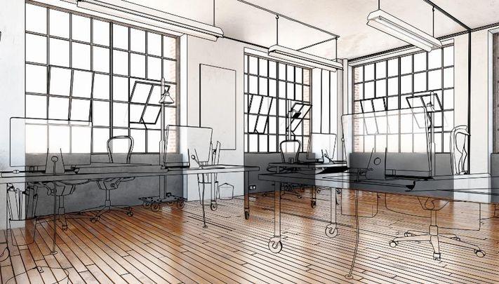 تاثیر طراحی بر فضای کاری مشترک و عامل افزایش مزایای این محیط کاری
