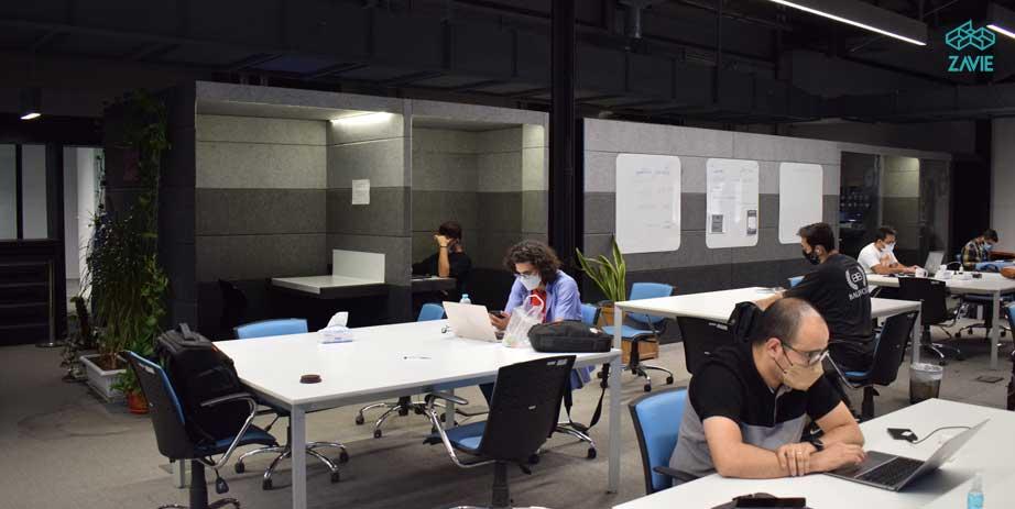 فضای کار اشتراکی فضای کار مشترک